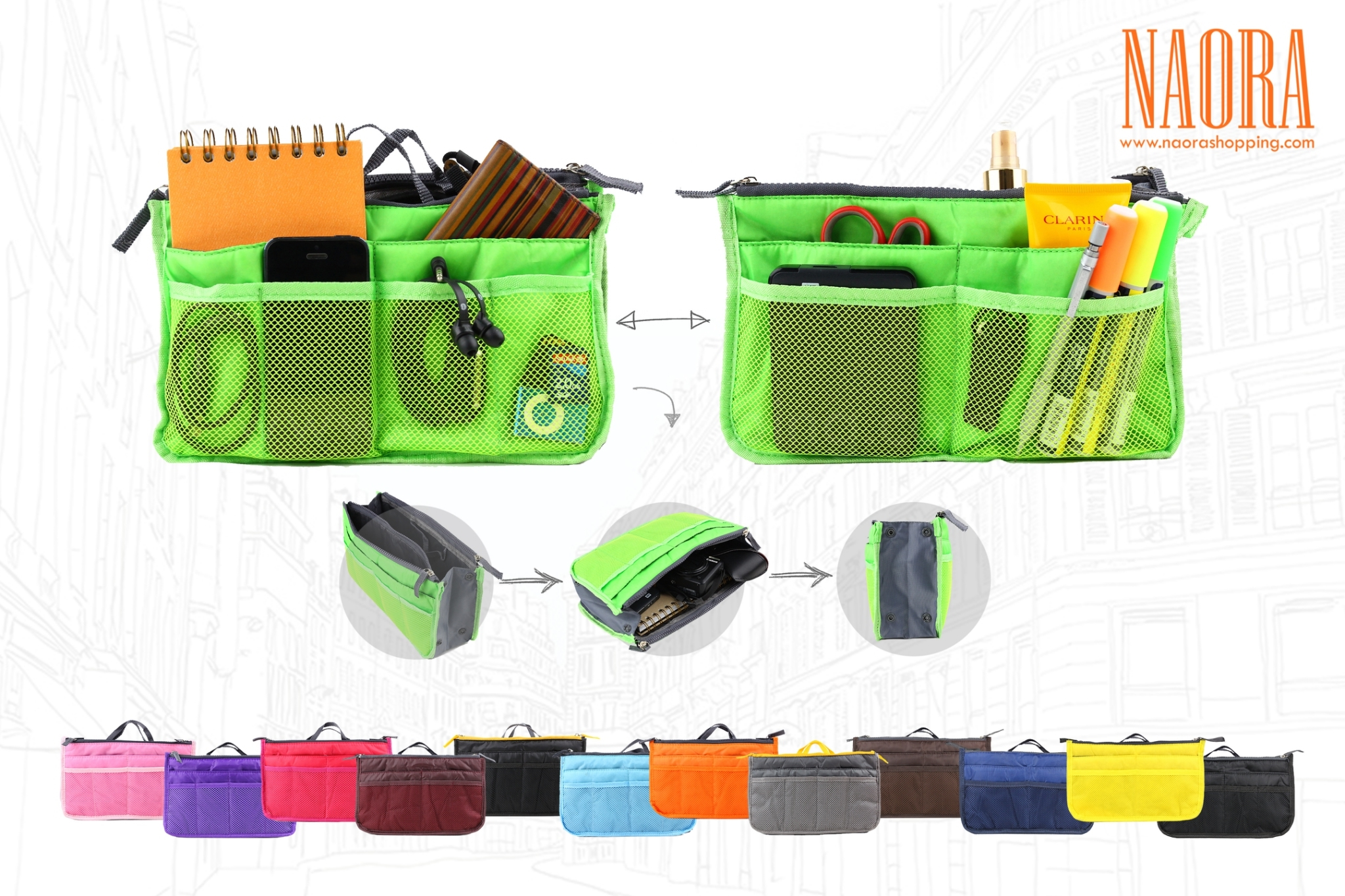 กระเป๋าจัดระเบียบ Multi Purpose