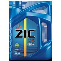 Zic X5 15W40 ดีเซล10,000กิโล ขนาด 6 ลิตร