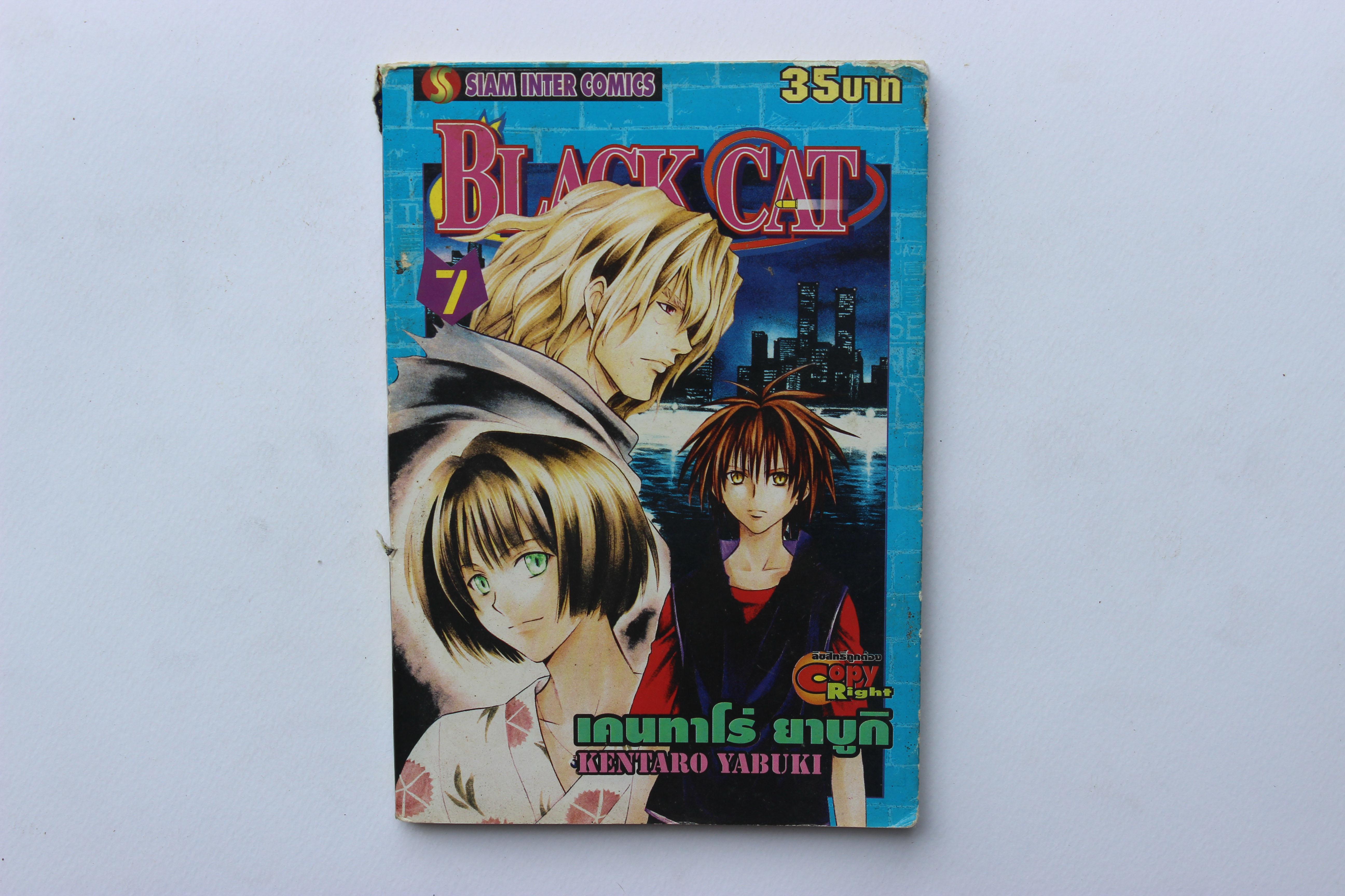 BLACK CAT Vol.7