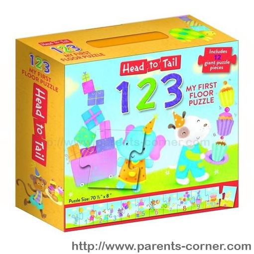 Floor Puzzle 123