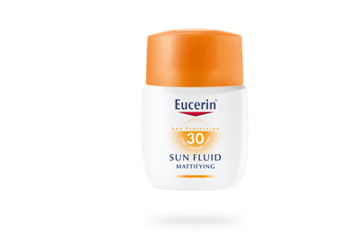 EUCERIN SUN FLUID MATTIFYING FACE SPF 30+ (50 มล.)