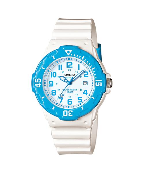 นาฬิกา คาสิโอ Casio STANDARD Analog'women รุ่น LRW-200H-2BV ของแท้ รับประกัน 1 ปี