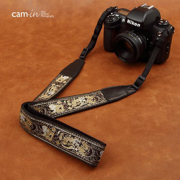 สายคล้องกล้องสวยๆ cam-in Brown Turkish