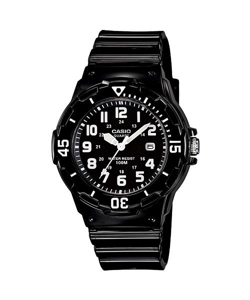 นาฬิกา คาสิโอ Casio STANDARD Analog'women รุ่น LRW-200H-1BV ของแท้ รับประกัน 1 ปี