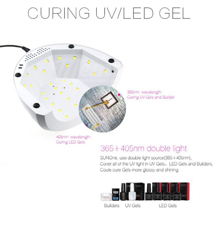 เครื่องอบเจล LED