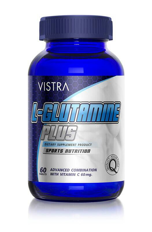 Vistra L-Glutamine plus 60 เม็ด