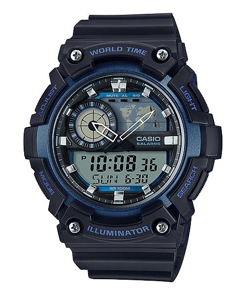 นาฬิกา Casio STANDARD Analog-Digital รุ่น AEQ-200W-2AV ของแท้ รับประกัน 1 ปี