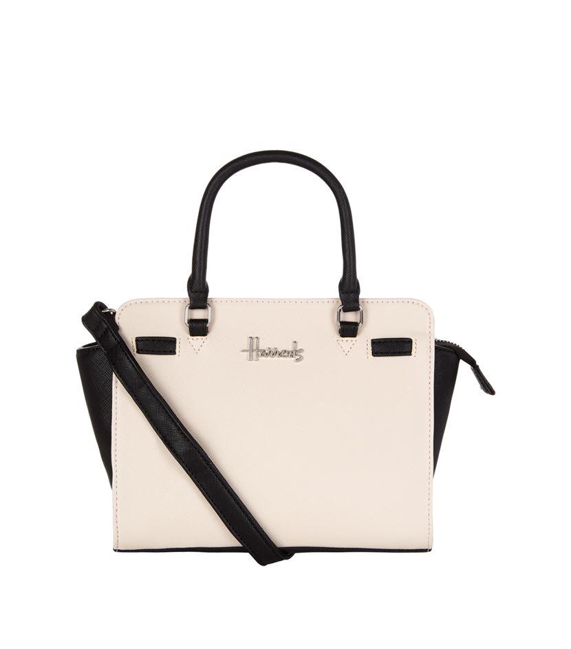 กระเป๋าครอสส์บอดี้แฮร์รอดส์สีทูโทนของแท้ Novello Mini Two-Tone Crossbody Bag