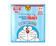 SOS T1 Doraemon กันน้ำ 6 ชิ้น