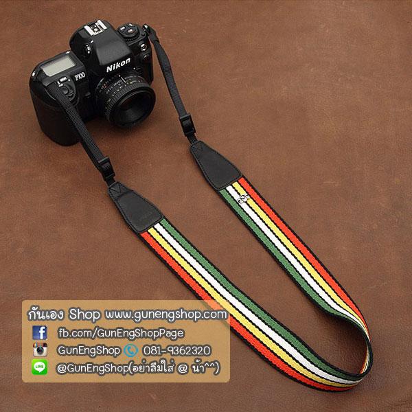 สายคล้องกล้อง cam-in Reggae Style