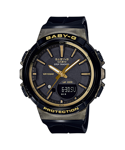 นาฬิกา Casio Baby-G for Running BGS-100GS Glamorous Sporty series รุ่น BGS-100GS-1A ของแท้ รับประกัน1ปี