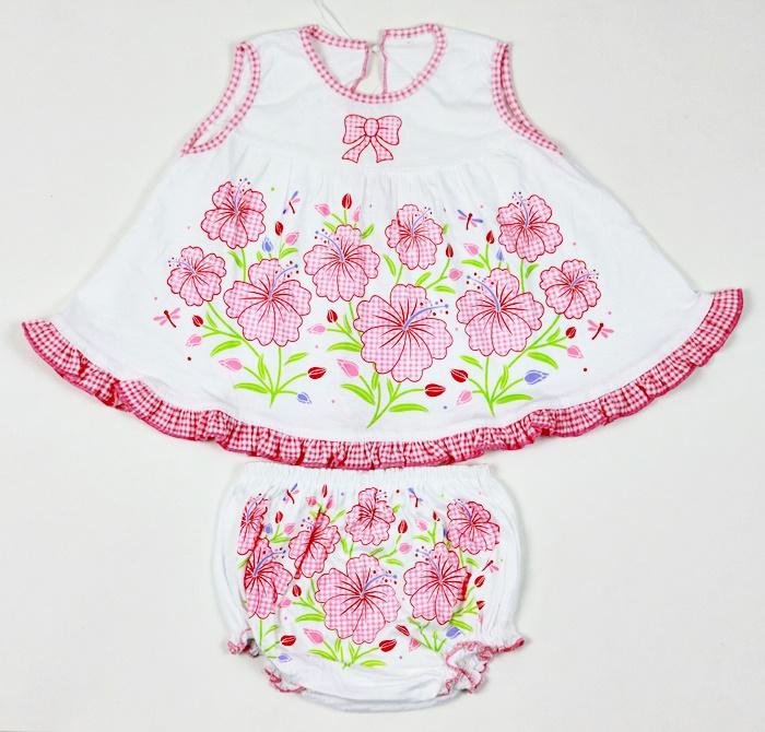 ชุดเด็กหญิงแขนกุด (แรกเกิด-6เดือน )