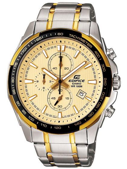 นาฬิกา คาสิโอ Casio EDIFICE CHRONOGRAPH รุ่น EF-566SG-9AV