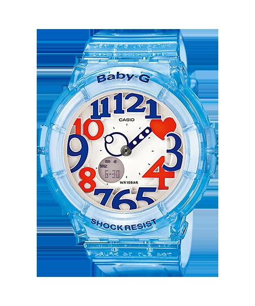 นาฬิกา คาสิโอ Casio Baby-G Neon Illuminator รุ่น BGA-131-2B