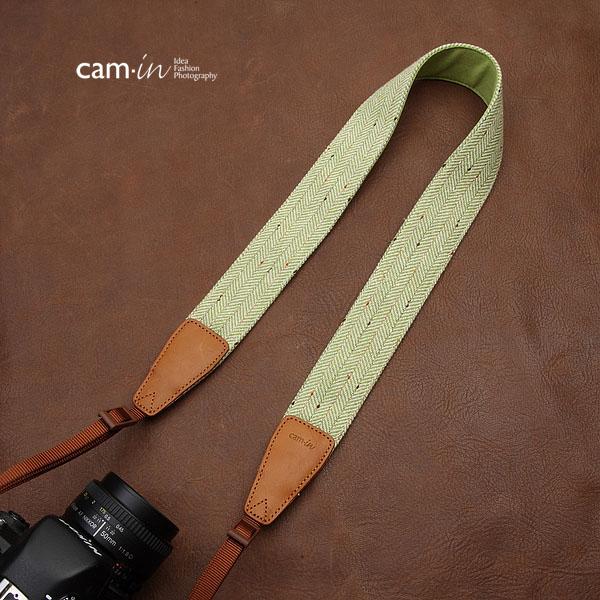 สายคล้องกล้องเท่ห์ๆ cam-in On the rock Light Green