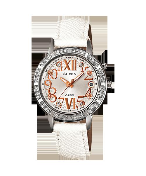 นาฬิกา คาสิโอ Casio SHEEN 3-HAND ANALOG รุ่น SHE-4031L-7ADR