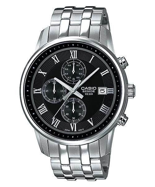 นาฬิกา คาสิโอ Casio BESIDE CHRONOGRAPH รุ่น BEM-511D-1AV
