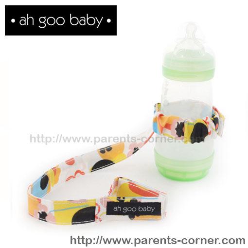สายห้อยขวดน้ำ/ของเล่น Ah Goo Baby - Poppy