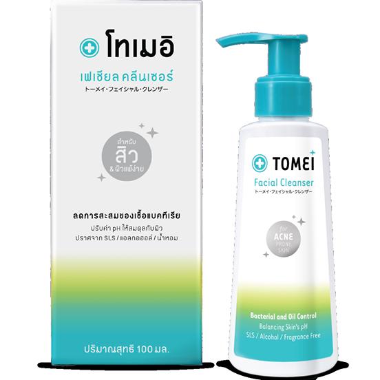 Tomei Facial Cleanser [100 ml.] เจลล้างทำความสะอาดผิวหน้า