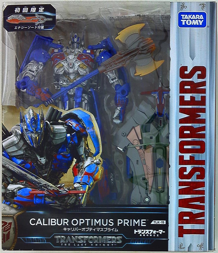 Takara Tomy Transformers The Last Knight TLK 15 Caliber Optimus Prime NEW