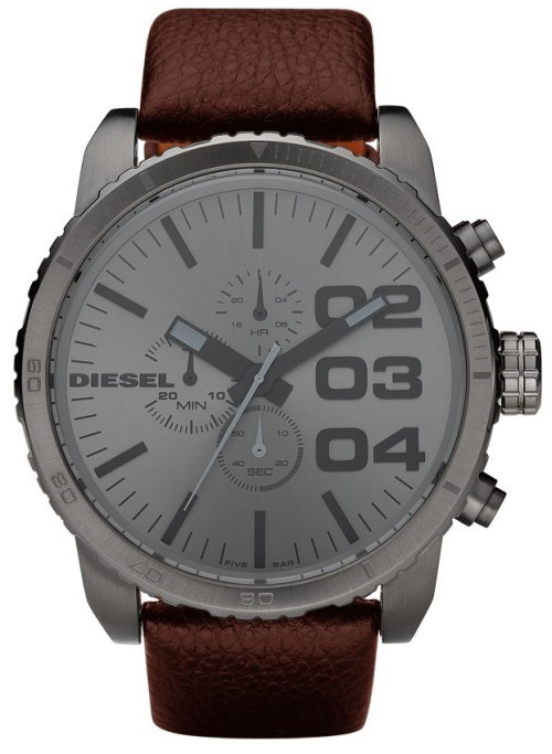 นาฬิกาข้อมือ ดีเซล Diesel Chronograph Dark Brown/Grey รุ่น DZ4210