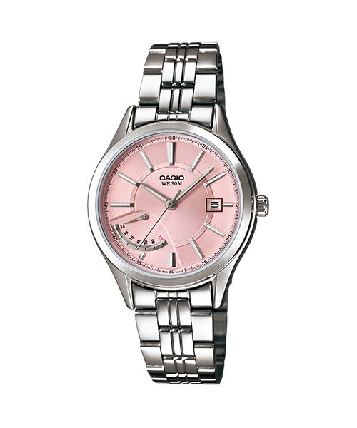 นาฬิกา คาสิโอ Casio STANDARD Analog'women รุ่น LTP-E102D-4AV ของแท้ รับประกัน 1 ปี