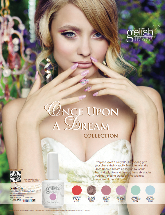 Once Upon A Dream  สีเจล Harmony  Once Upon A Dream Collection