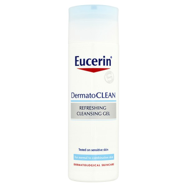 EUCERIN DERMATOCLEAN REFRESHING CLEANSING GEL 200ml.