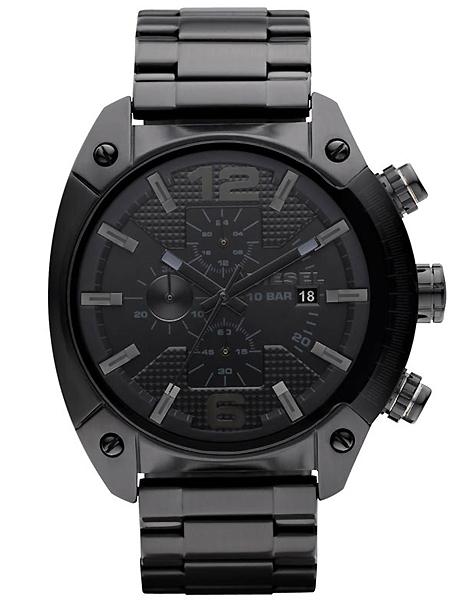 นาฬิกาข้อมือ ดีเซล Diesel Men's Advanced Black Watch รุ่น DZ4223