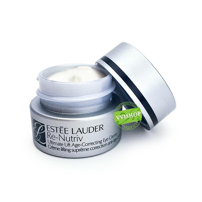 Estee Lauder Re‑Nutriv Ultimate Lift Age-Correcting Eye Creme 5 ml. ผิวดูอ่อนเยาว์อย่างน่าทึ่ง ผิวรอบดวงตาดูเปล่งปลั่ง สวย และเต็มไปด้วยชีวิตชีวา