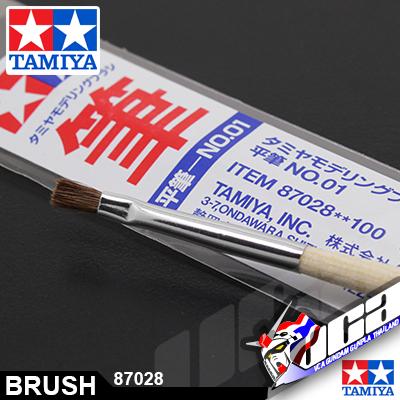 TAMIYA FLAT BRUSH NO.01