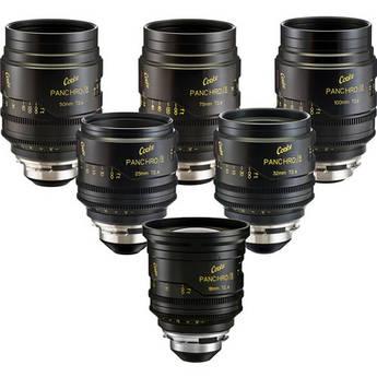 Cooke miniS4/i Cine Lens Set of Six Lenses 18 to 100mm
