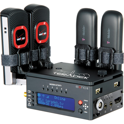 Teradek Bond II HDMI Cellular Bonding Solution with MPEG-TS