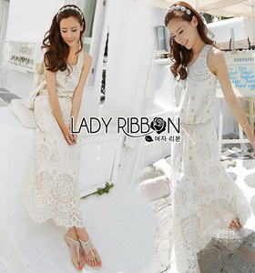white lady ribbon