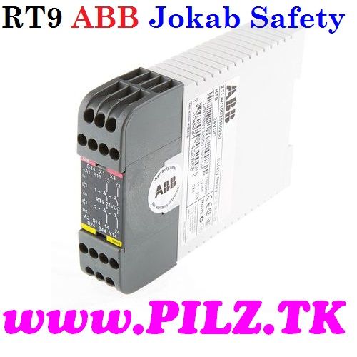 RT9 24VDC ABB Jokab Safety Safety Relay, Single or Dual Channel, 24 V dc, 2NO Safety 2TLA010029R0000 LiNE iD PILZ.TK