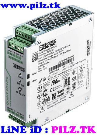 2866734 Phoenix Contact Power Supply QUINT-PS/3AC/24DC/5 LiNE iD PILZ.TK