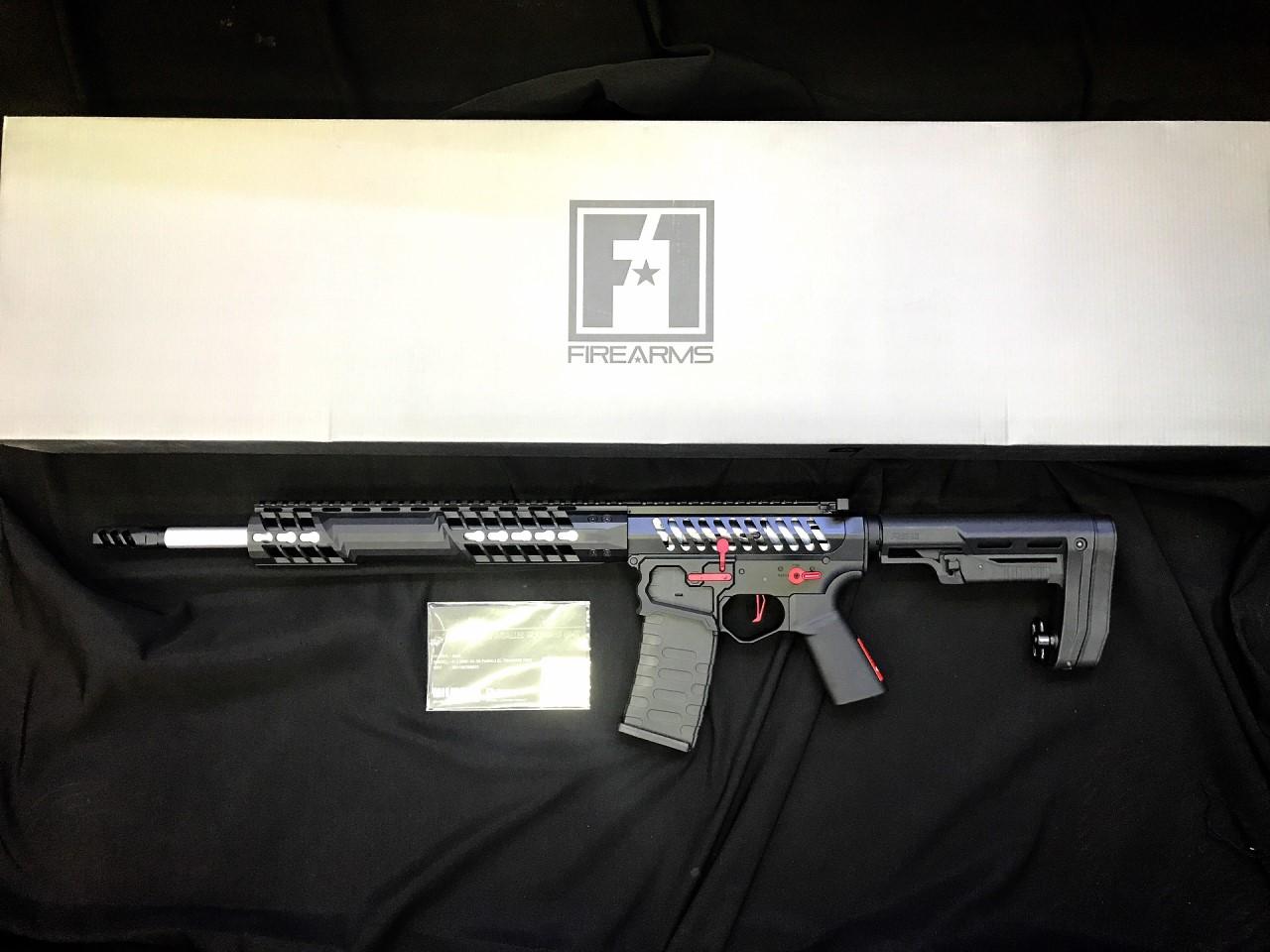 EMG F1 FIREARMS BDR-15 AR15, Unique Replica Skeletonised