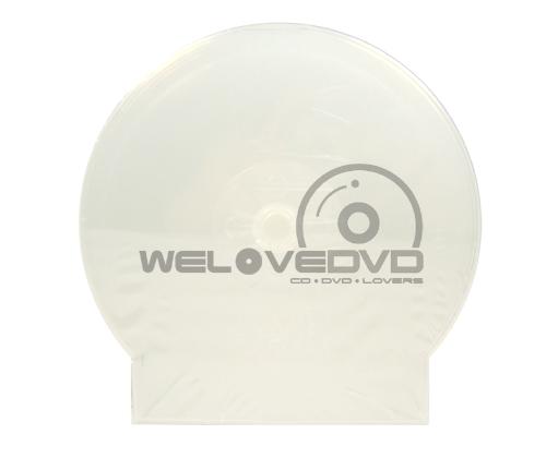 Single Clam Shell White Plastic Case (10 pcs)