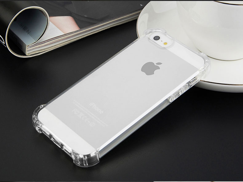 TPUใส กันกระแทก iphone5/5s/se