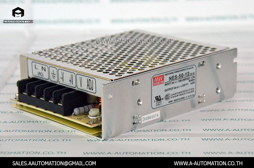 POWER SUPPLY MODEL:NES-50-12 [MEAN WELL]
