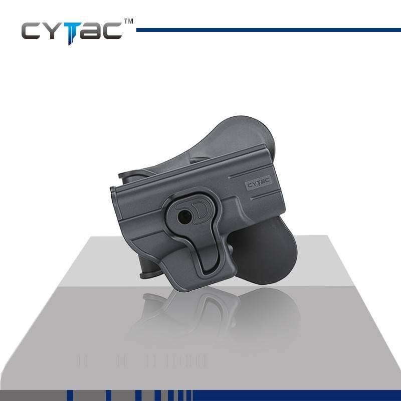 ซองปืน รุ่นR-Defender จากค่าย Cytac ของปืน Glock 43 ปืนรุ่นที่ใส่ได้ Glock 43 ใน1ชุด มีซองปืน