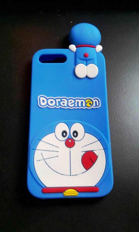 ซิลิโคนลายแมวสีฟ้าเกาะหลัง iphone7 plus/iphone8 plus(ใช้เคสตัวเดียวกัน)