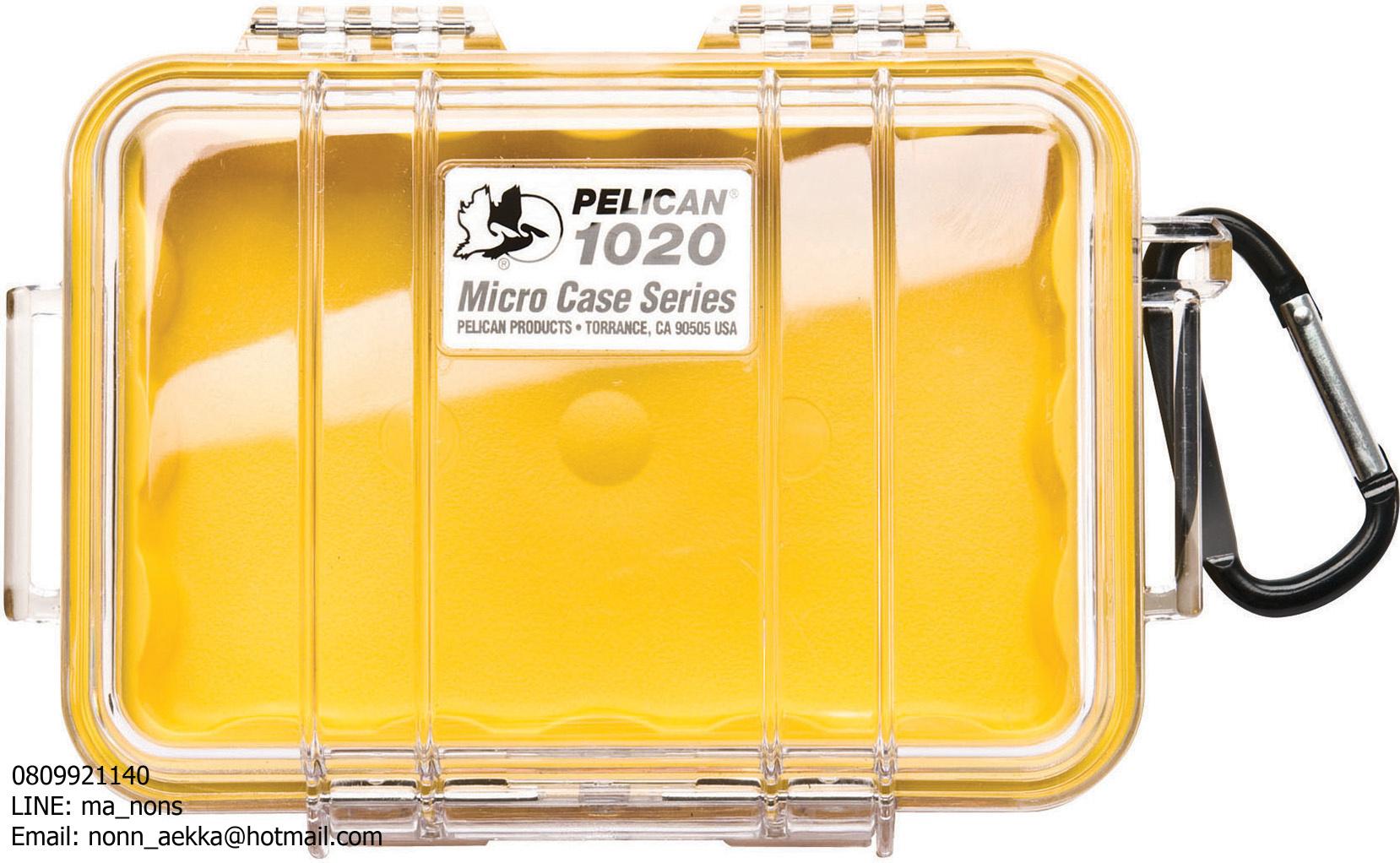 PELICAN™ 1020 MIRCOCASE, YELLOW