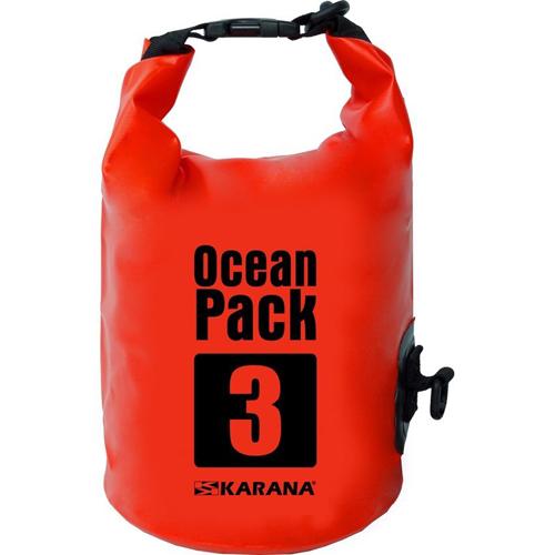 กระเป๋ากันน้ำ Ocean Pack 3L-สีแดง