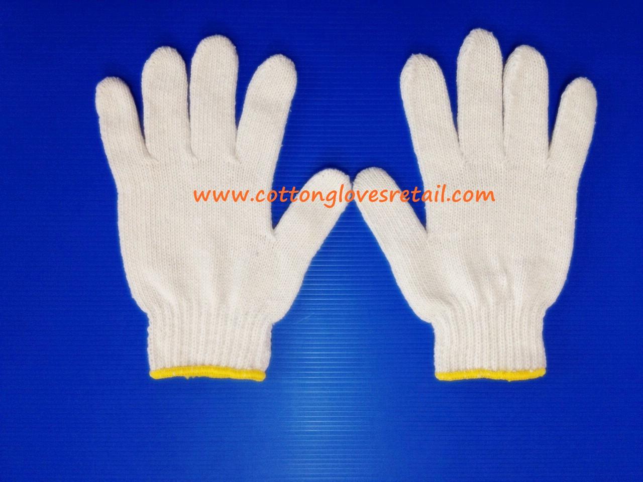 ถุงมือผ้าฝ้ายขนาด 600 กรัม จำนวน 10 โหล