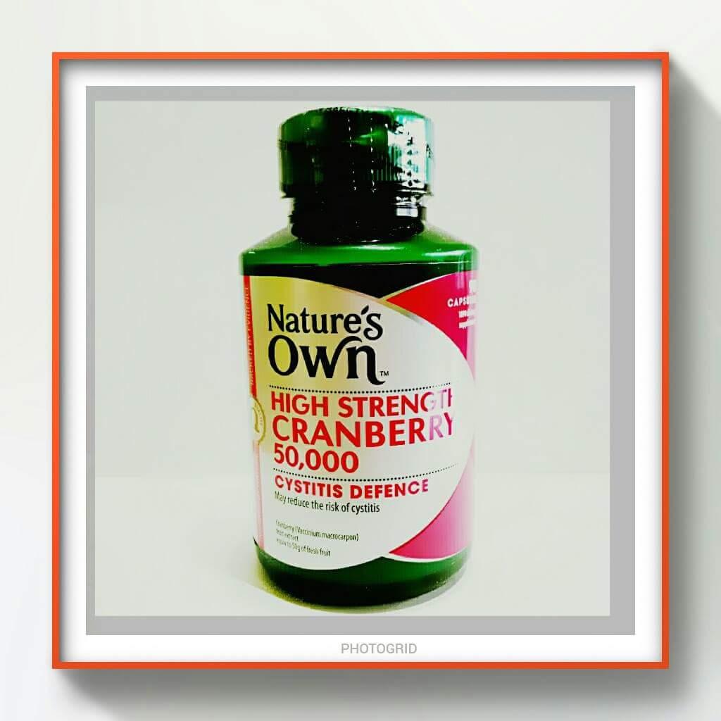 Nature's OWN High Strength Cranberry 50,000 mg แครนเบอรี่ความเข้มข้นสูง 50,000 มก