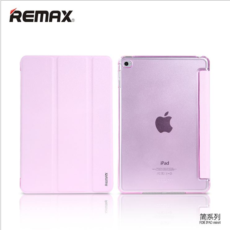 Remax Slim case iPadmini 2- ชมพู