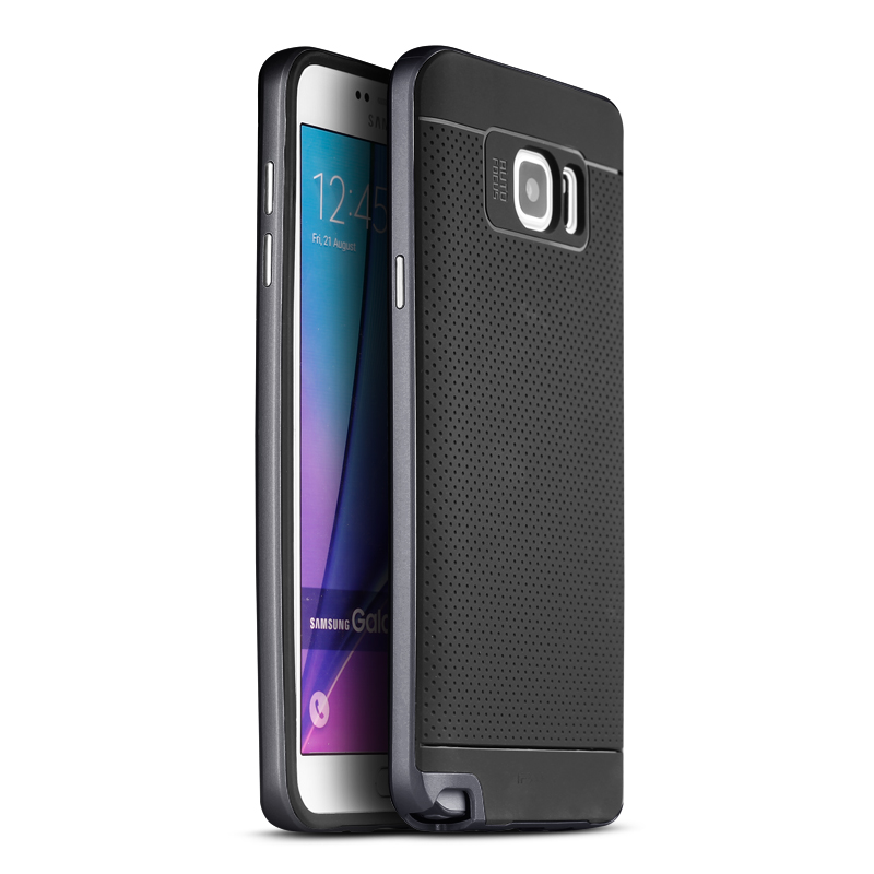 IPAKY Case Samsung Galaxy Note 5 (Black)