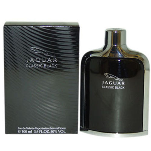 น้ำหอม Jaguar Classic Black by Jaguar Eau De Toilette 3.4 OZ for Men NEW