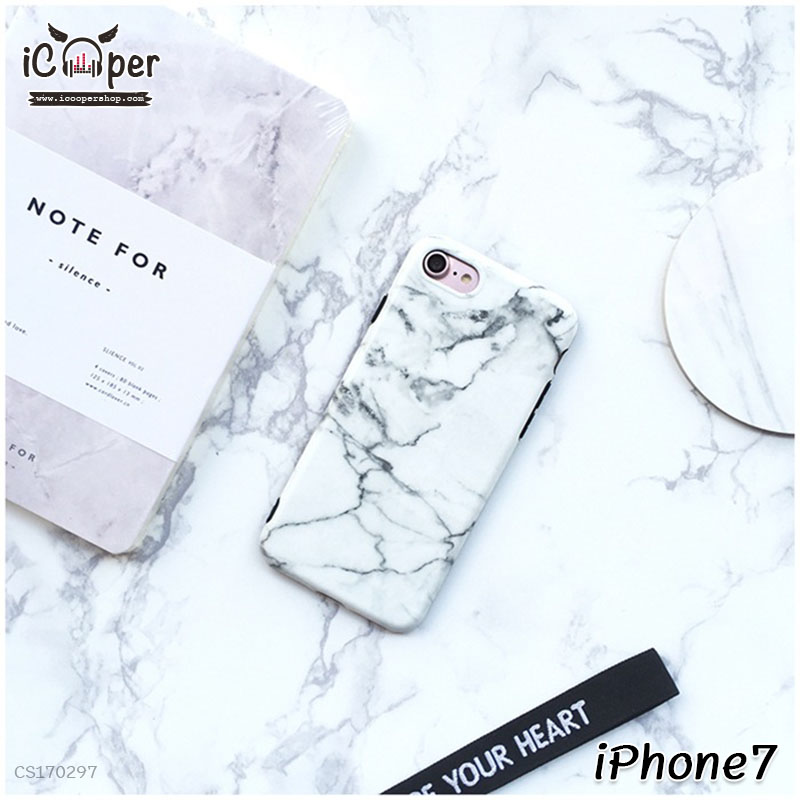 Marble Case - White (iPhone7)